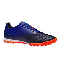 Agility 540 HG Adult Hard Ground Leather Football Boot - Blue/Orange