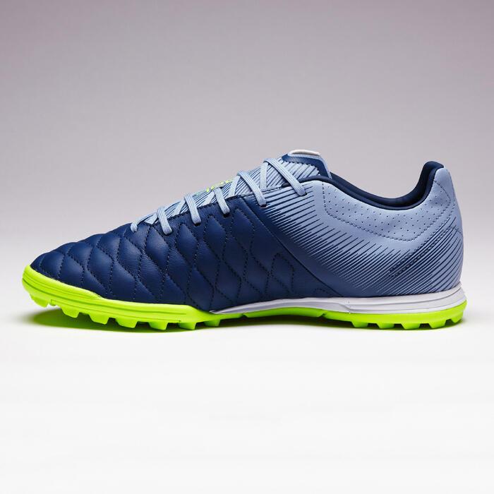 Chaussure de football adulte terrains durs Agility 700 HG noire grise - 1353420