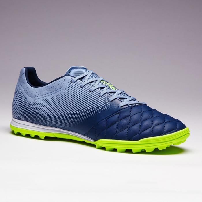 Chaussure de football adulte terrains durs Agility 700 HG noire grise - 1353421