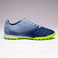 Tenis de fútbol para adulto. Terrenos duros. Agility 700 piel HG gris y azul