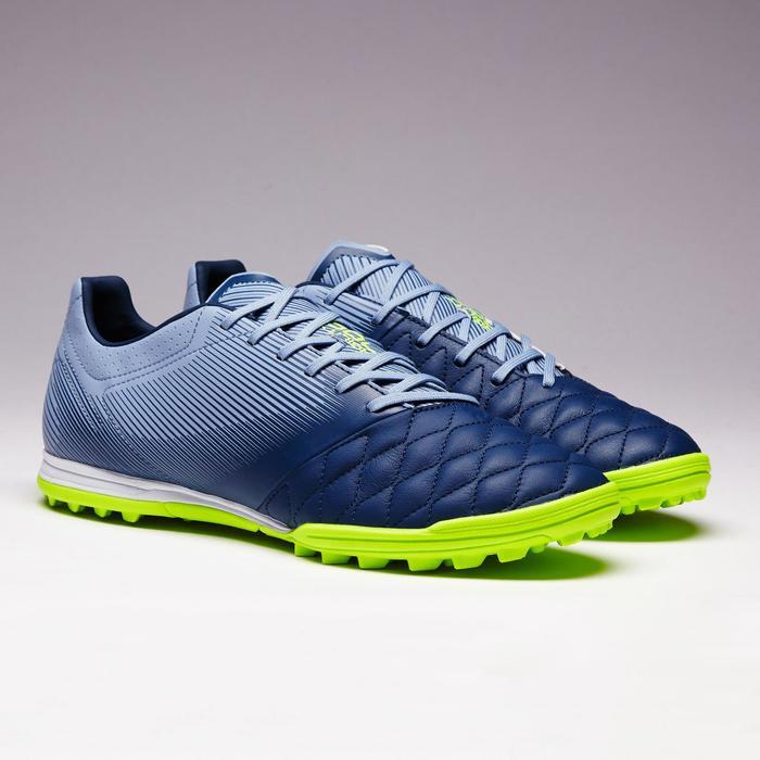 Voetbalschoenen voor volwassenen Agility 700 HG voor hard terrein blauw geel