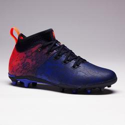Voetbalschoenen voor kinderen Agility 900 FG voor droog terrein blauw rood