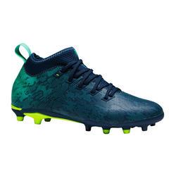 Voetbalschoenen kind Agility 900 FG blauw/groen