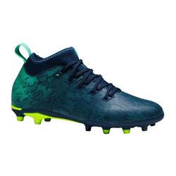 Botas de Fútbol Kipsta Agility 900 FG niños azul verde