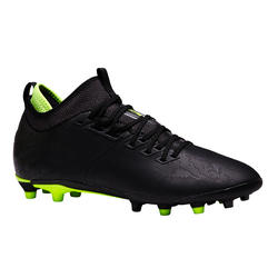 Agility 900 Mid FG Adult Dry Pitch Soccer Cleats - Black