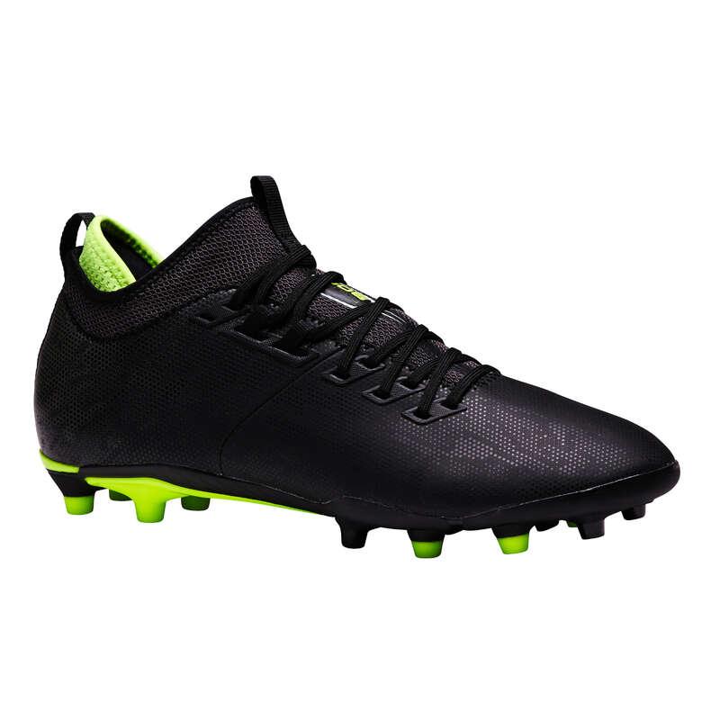 Firm ground Football - Agility 900 MiD FG Adult Black KIPSTA - Football Boots