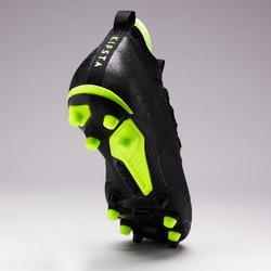 Botas de fútbol adulto terrenos secos Agility 900 MiD FG negro
