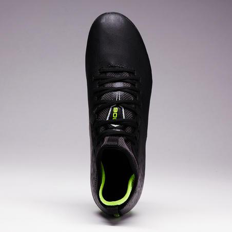 Sepatu Sepak Bola Lapangan Kering Agility 900 MiD FG Dewasa - Hitam