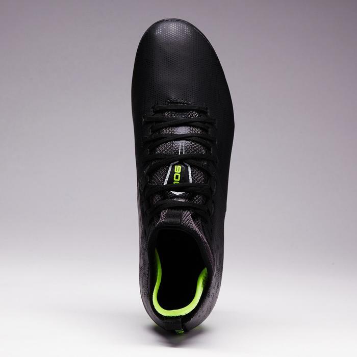 Botas de Fútbol adulto Kipsta Agility 900 Mid FG negro