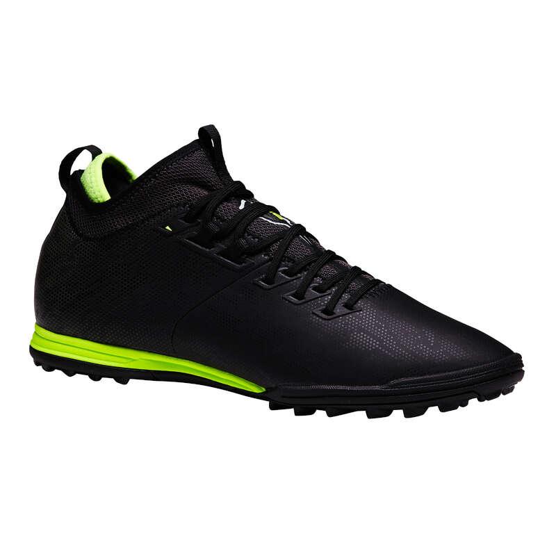 Turf Football - Agility 900 MiD HG Adult - Black KIPSTA - Football Boots
