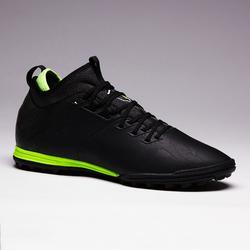 Chaussure de football adulte terrain dur Agility 900 HG noire jaune