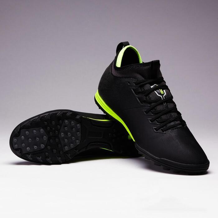 Voetbalschoenen voor volwassenen Agility 900 HG hard terrein zwart/geel