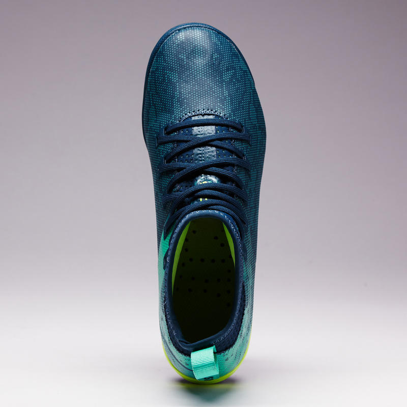 Chaussure de football enfant terrain dur Agility 900 HG petrole vert