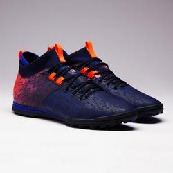 成人款硬地足球鞋Agility 900 HG-藍色/橘色