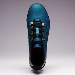 Chaussure de football adulte terrain dur Fifter 900 HG bleue jaune