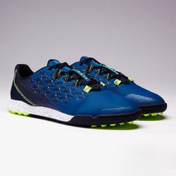 Botas de Fútbol adulto Kipsta Fifter 900 HG turf azul