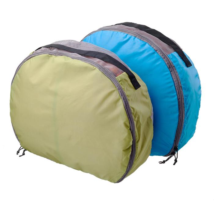 2 Half-moon TREK Bags 70 to 90 L