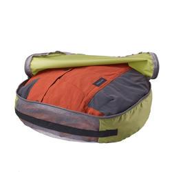 2 Aufbewahrungsbeutel XL für Rucksäcke mit 70-90l Halbmond