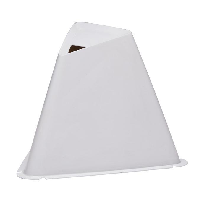 Lote de 6 conos Essential 15 cm gris