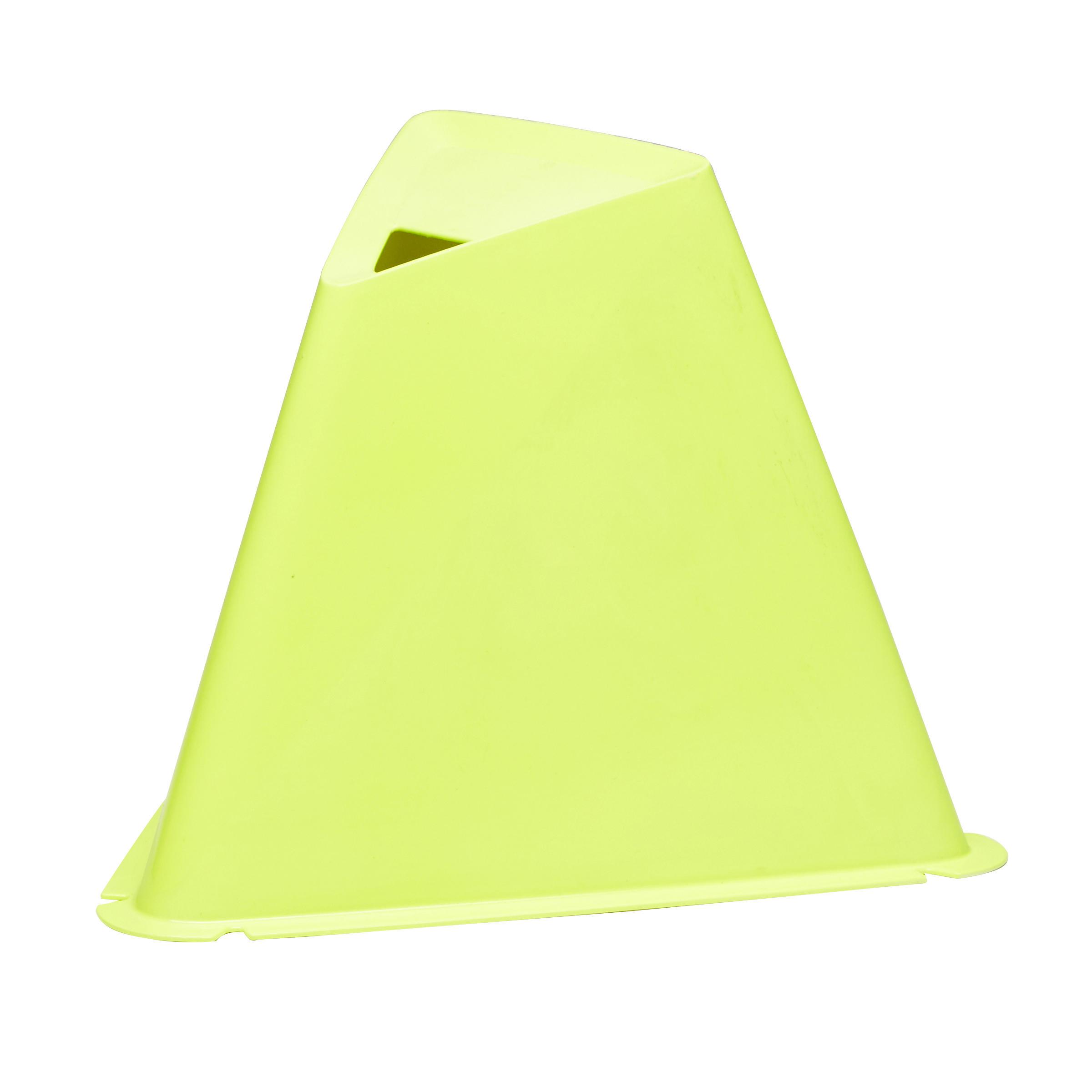 Pqt. de 6 conos Essential 15 cm amarillo