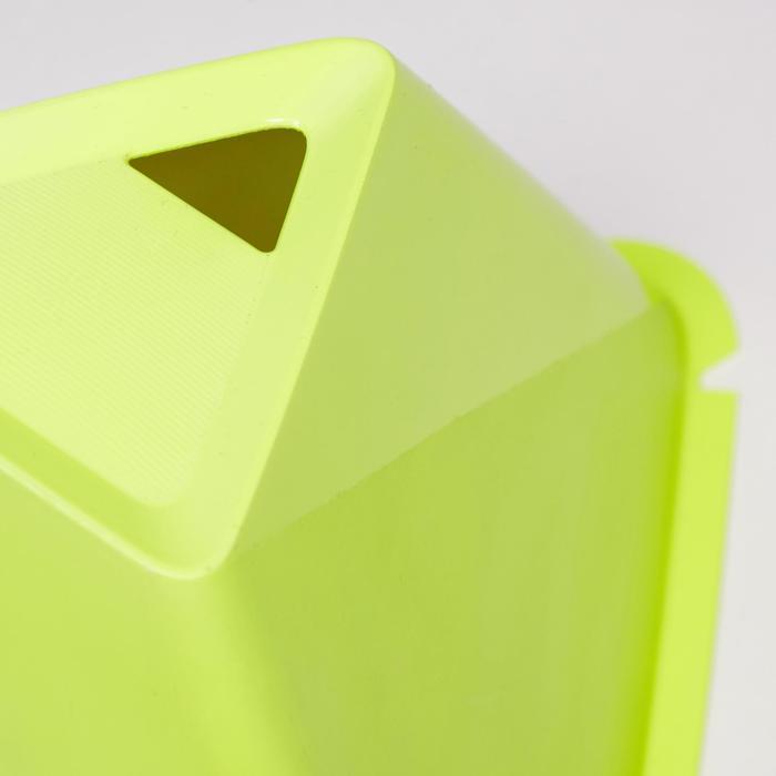 Set van 6 kegels Essential 15 cm geel
