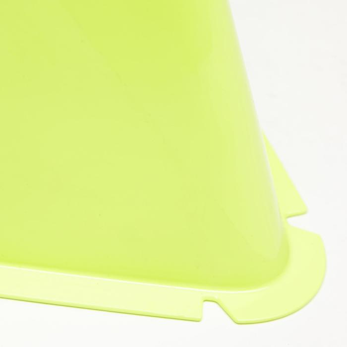 Trainings-Hütchen Pylonen Kegel Essential 6er-Set 15cm gelb