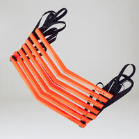 Escalera de entrenamiento Kipsta Essential 3.20m Naranja