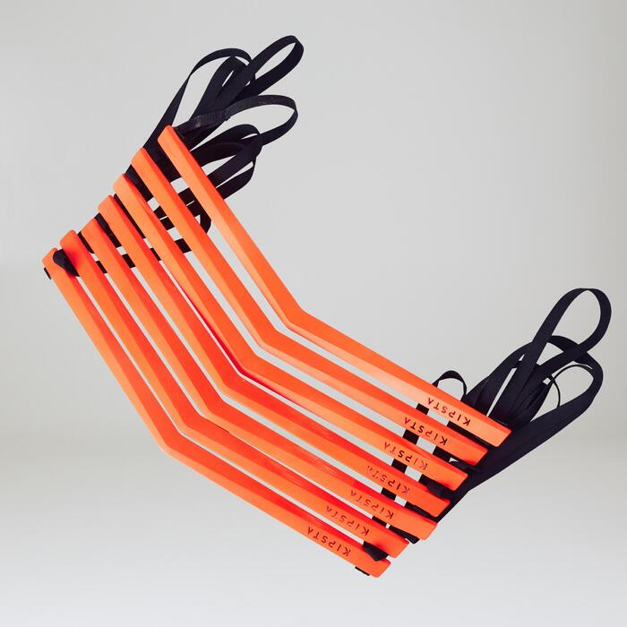 足球敏捷訓練繩梯Essential 3.2 m-橘色