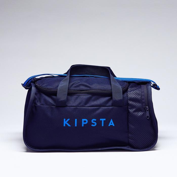 Sac de sports collectifs Kipocket 20 litres bleu noir bleu indigo vif