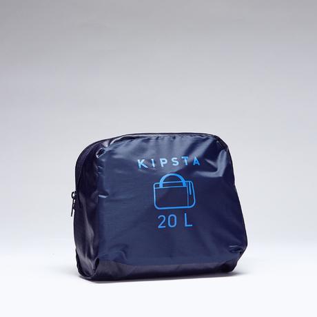 4c2b14f6f7 Sac de sports collectifs Kipocket 20 litres bleu noir bleu indigo vif.  BIENTÔT ÉPUISÉ. Previous. Next