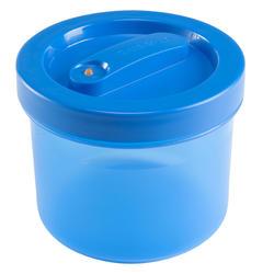 Plastic bewaardoosje voor trekking 0,65 liter