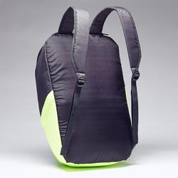 Classic 17-Litre Backpack - Carbon Grey/Neon Yellow