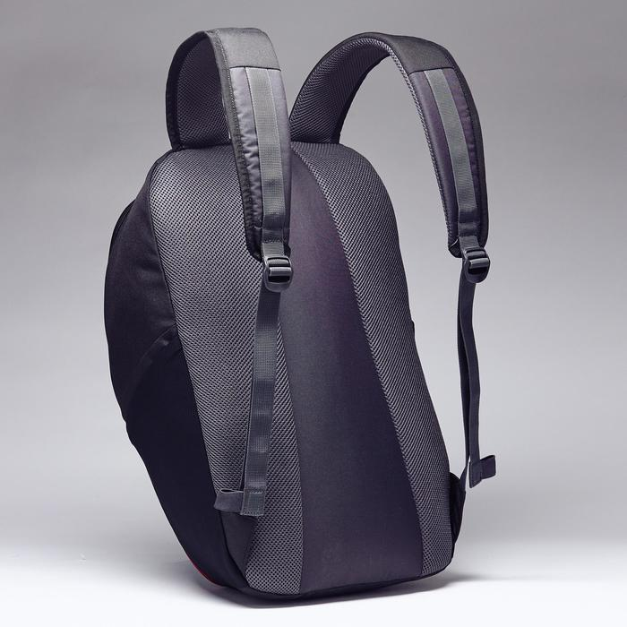 Sporttasche Rucksack Classic 25L schwarz/carbongrau