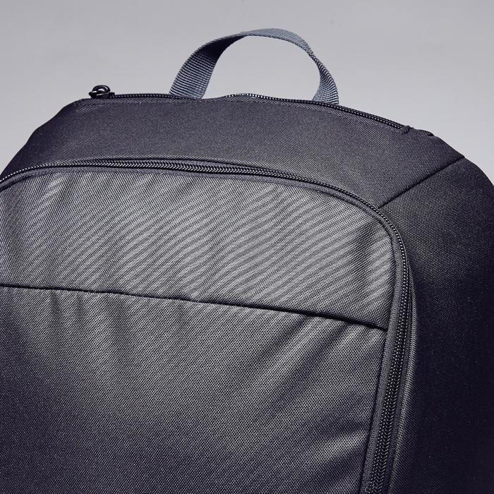 Sac à dos de sports collectifs Classic 25 litres noir, gris carbone - 1353847