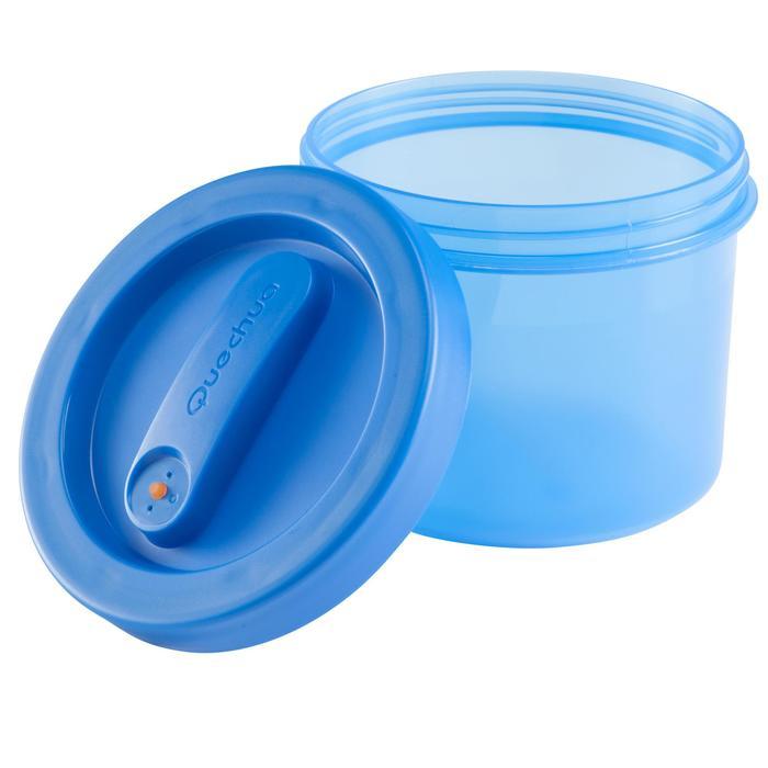 Plastic bewaardoosje voor trekking 0,65 liter - 135386