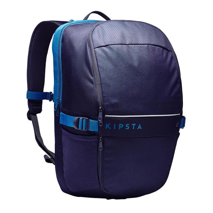 Rugzak voor teamsport Essentiel 35 liter nachtblauw Pruisisch blauw