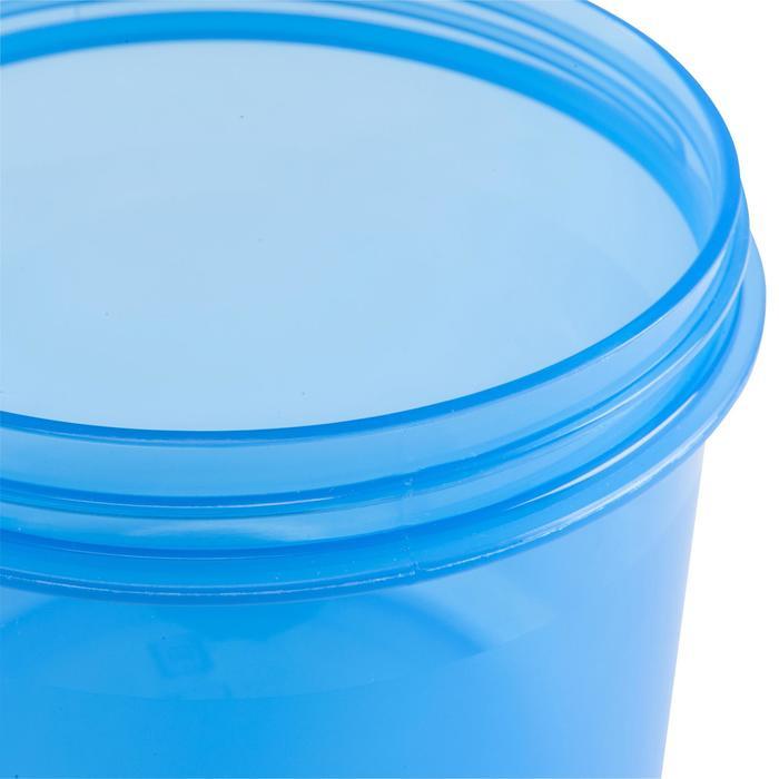 Plastic bewaardoosje voor trekking 0,65 liter - 135389