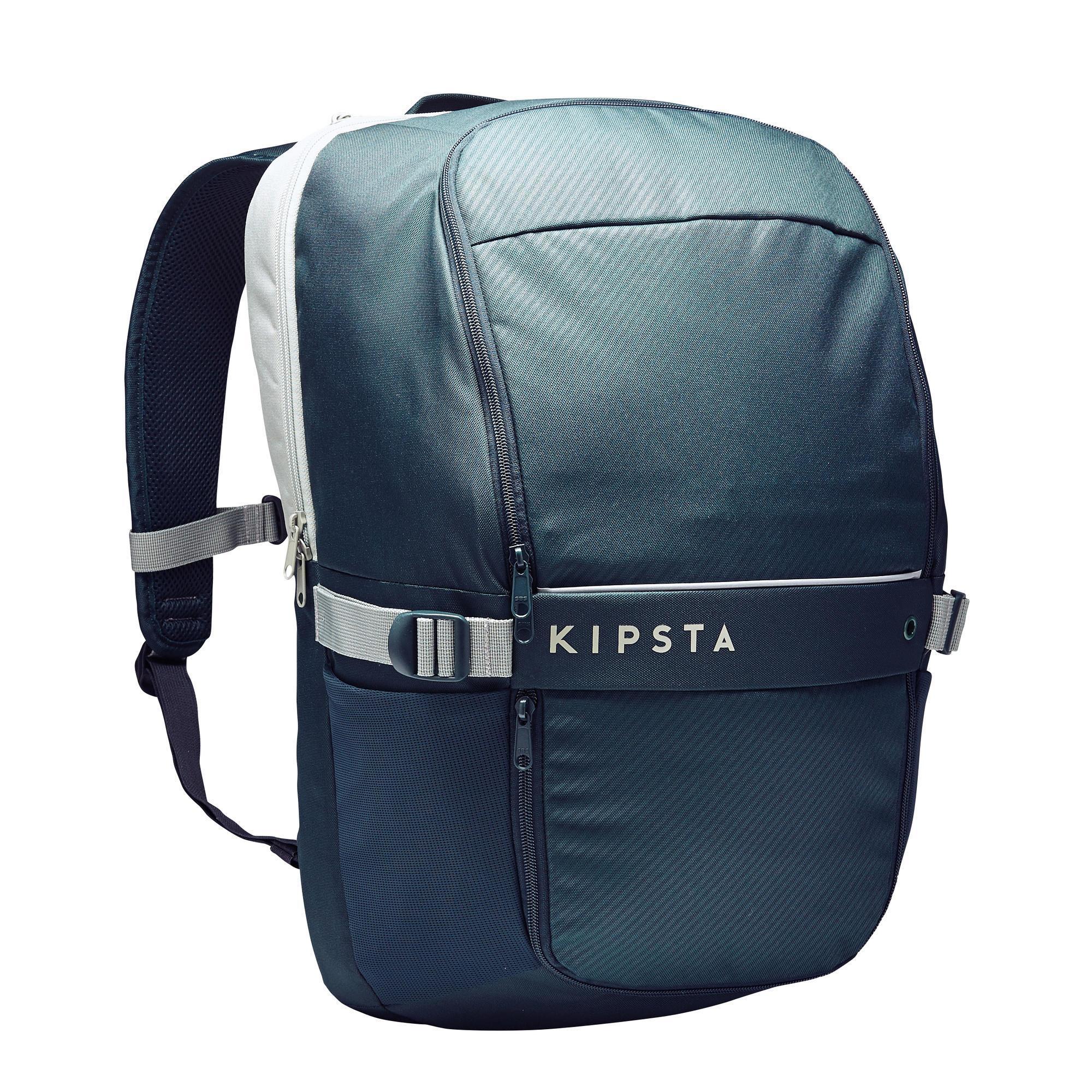 b2632e373ff Kipsta Rugzak Classic 35 liter groen/grijs