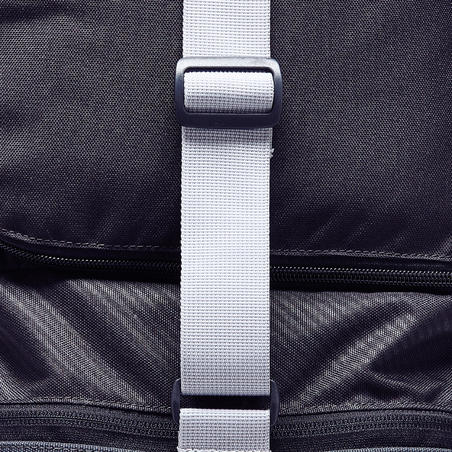 Kipocket 40L Sports Bag - Carbon Grey