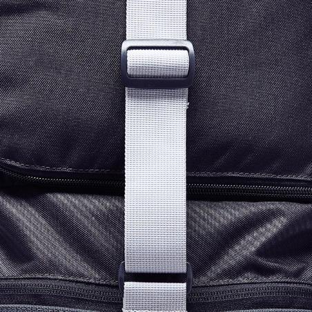 Sac de sports collectifs Kipocket 40 litres gris carbone