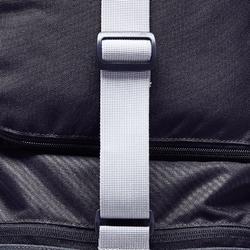 Voetbal / sporttas Kipocket 40 liter carbongrijs