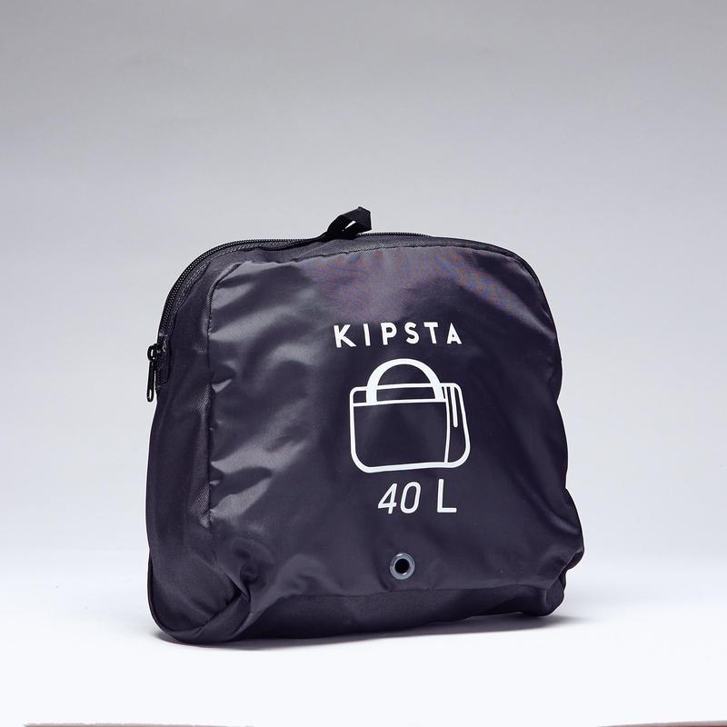 439f66b62027 Kipocket 40L Sports Bag - Carbon Grey