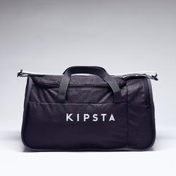 Bolsa de deporte Kipocket 40 litros gris carbono
