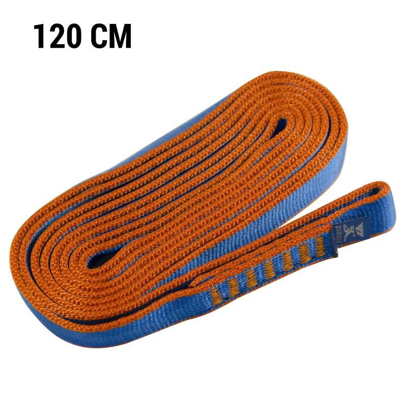 HOROLEZECKÁ LANA Lezení - JISTÍCÍ SMYČKA 120 CM SIMOND - Lezecká lana a smyčky