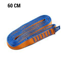 Bandschlinge 60 cm blau/orange