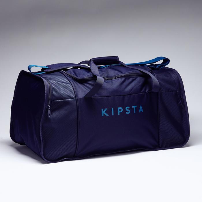 Bolsa de deportes colectivos Kipocket 80 litros azul negro azul petróleo