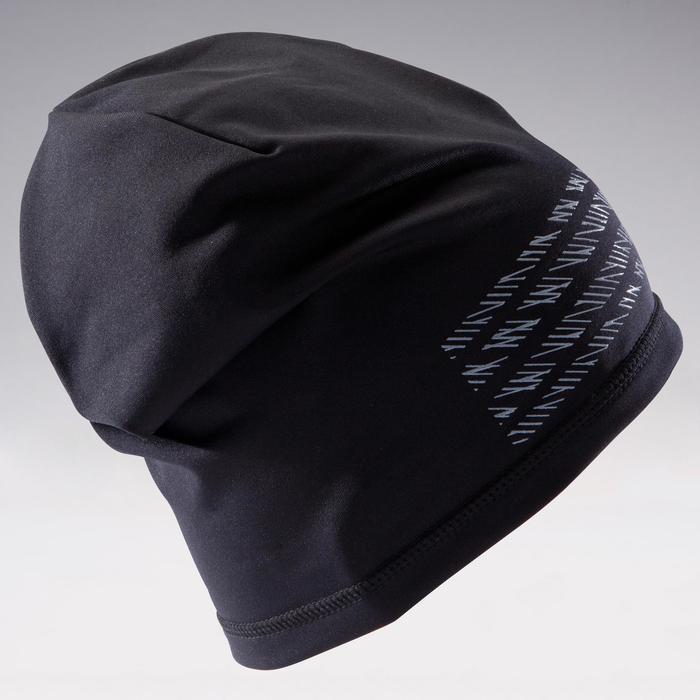 Bonnet de football Keepdry 500 adulte noir