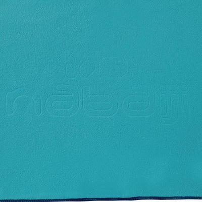"""מגבת מיקרופייבר במידה L 80 x 130 ס""""מ - כחול"""