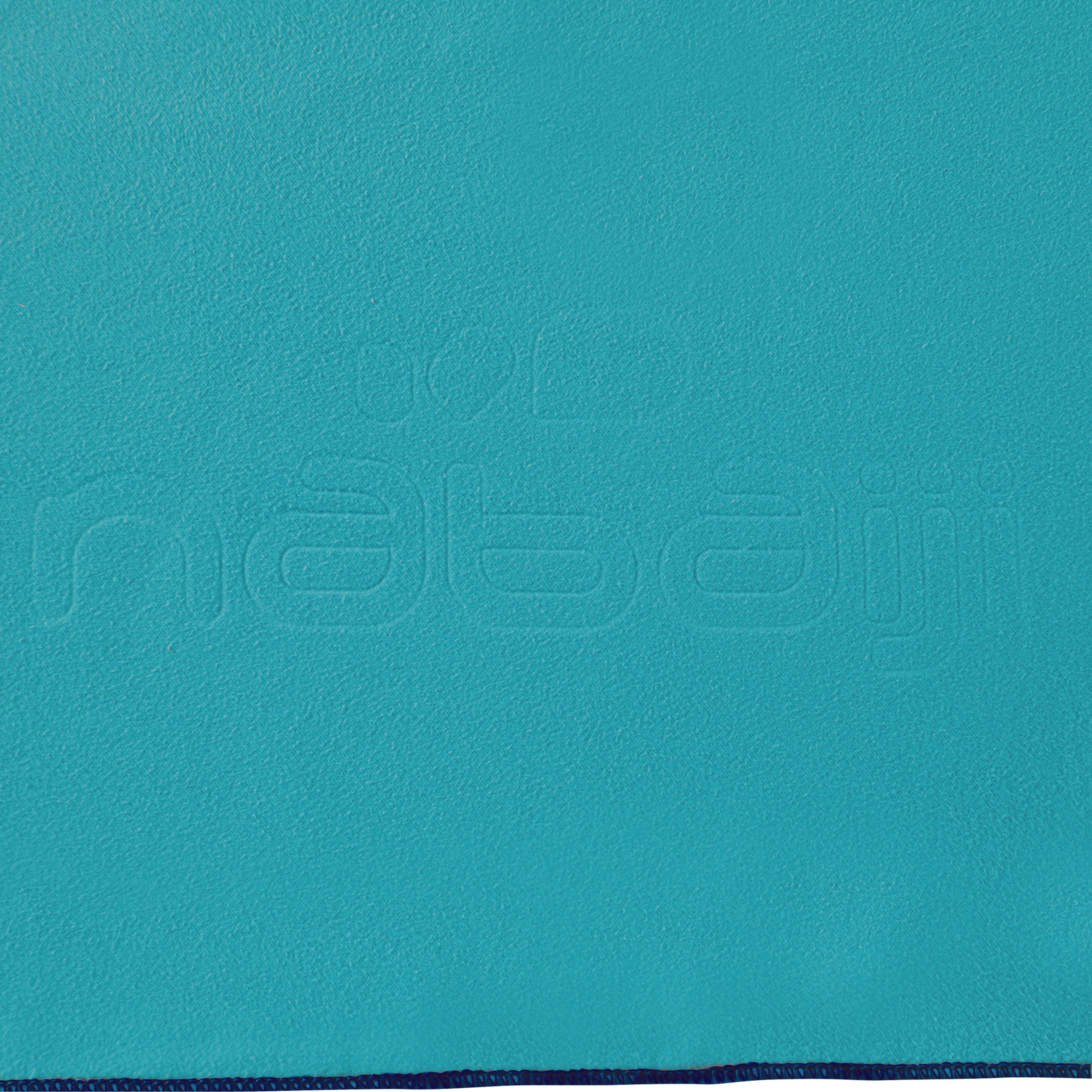Microfibre Towel Size L 80 x 130 cm - Blue