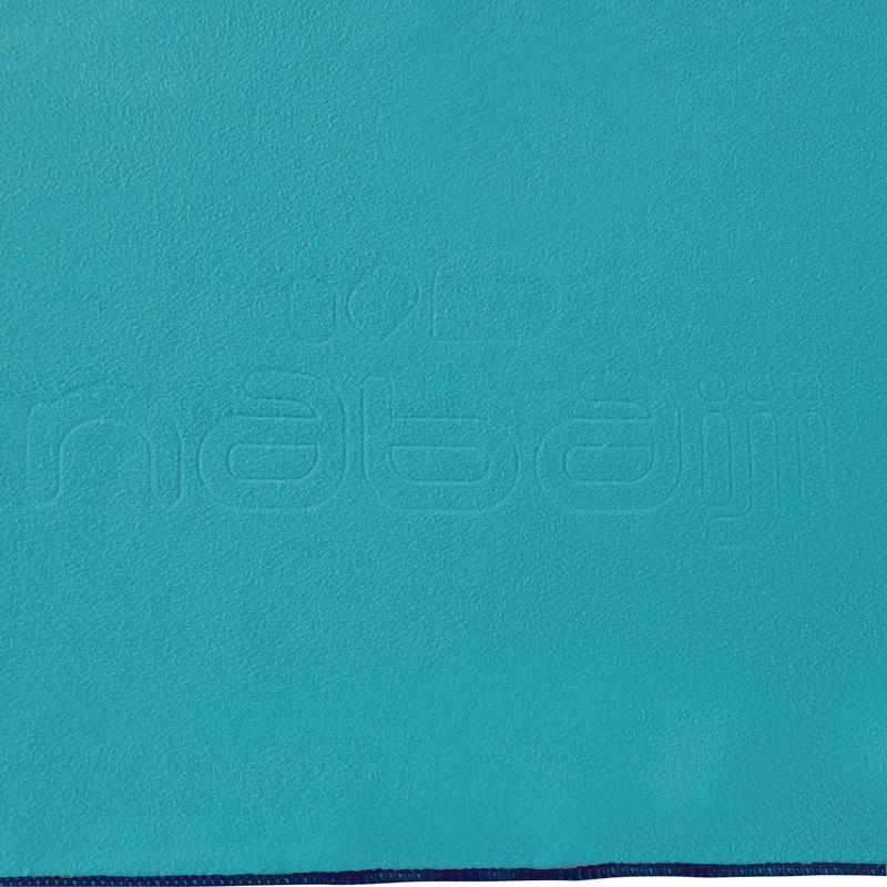 Toalla de Microfibra azul Turquesa L 80 x 130 cm